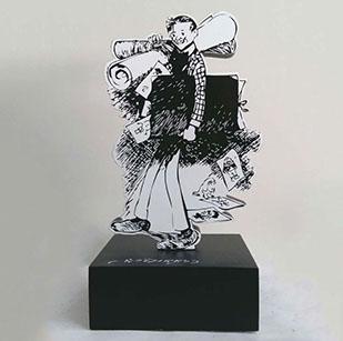 Rudolph Dirks Award Statue